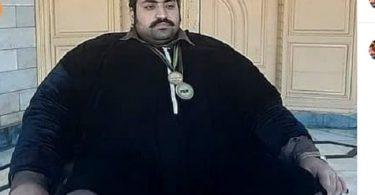 pakistani waight lifter hulk