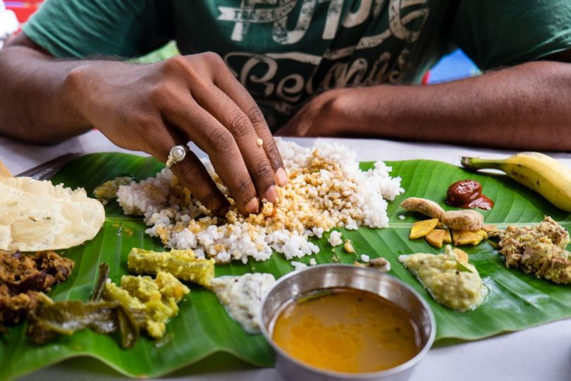 eat Indian food